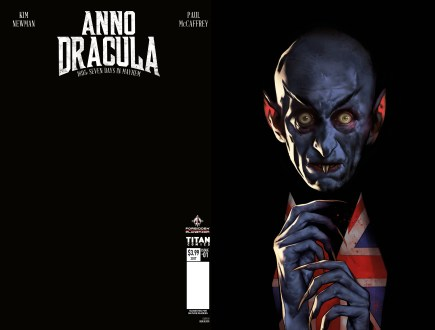 AnnoDracula#1 - Ben Oliver Variant - Launch event exclusive