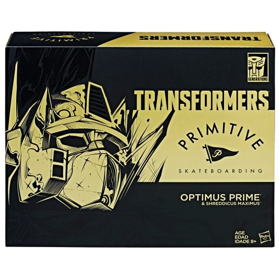 TRANSFORMERS PRIMITIVE OPTIMUS PRIME Figure_pkg