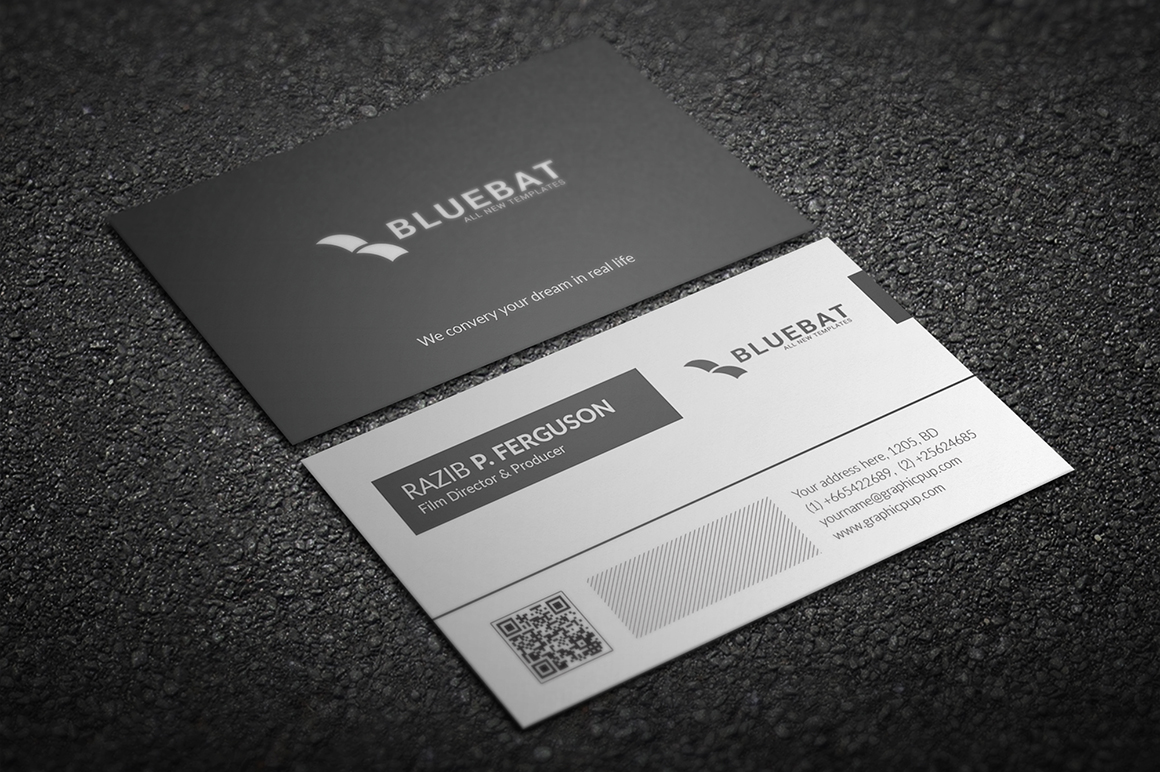 Business card download