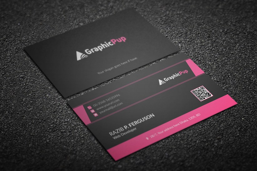 Clean Business Card Download
