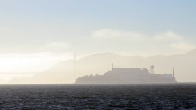 Everyday Alcatraz made extraordinary by fog.