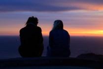 Setting Sun - Hawk Hill, Marin Headlands
