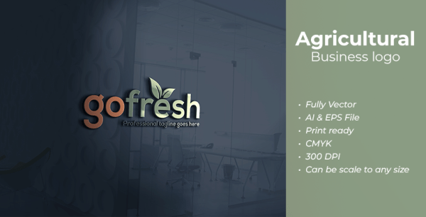 Agricultural Business Logo Template