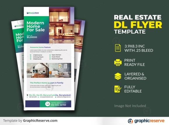 Real Estate Dl Flyer Template