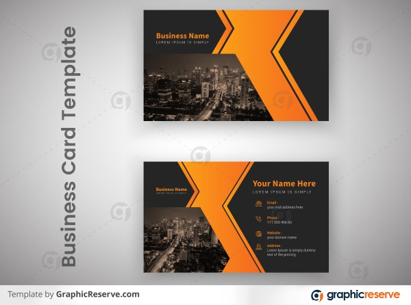 Creative Corporate Professional Business Card Template