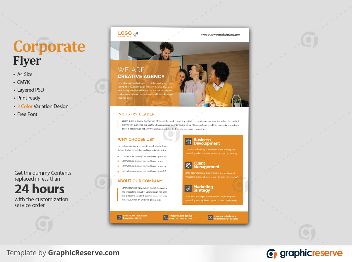 Corporate Flyer By Arif 1