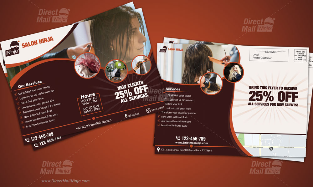 Salon Direct Mail EDDM