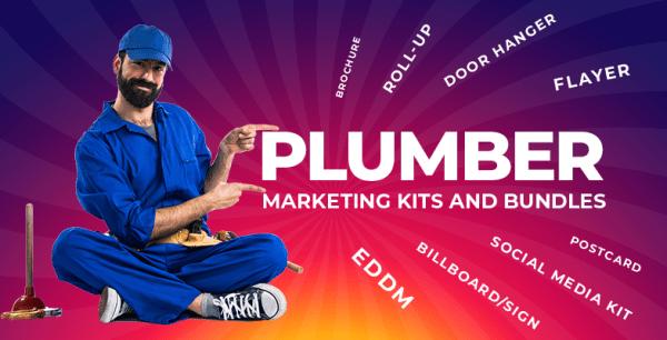 80+ Plumber Marketing Materials Design Templates Bundle