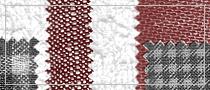Textile brushes set, Photoshop
