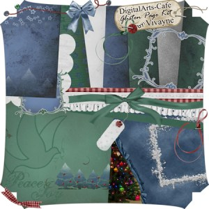 Another great freebie from Vivayne: Christmas Around the World – Free Digital Scrapbooking Kit
