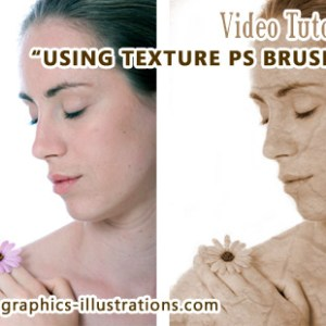 How to use Thursday's texture Photoshop Brushes