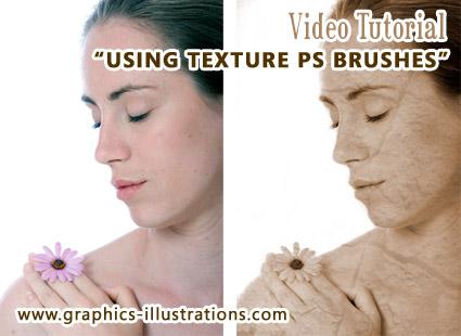 How to use Thursdays texture Photoshop Brushes