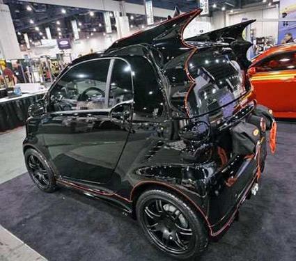 the car that Batman drove when he was just a kid