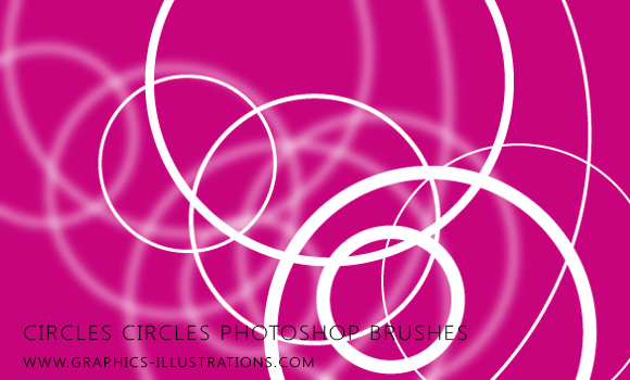 Circles circles Photoshop brushes set (15+15)