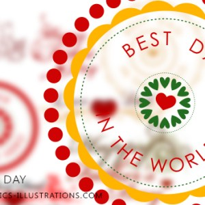 New Photoshop Brushes set: Father's Day