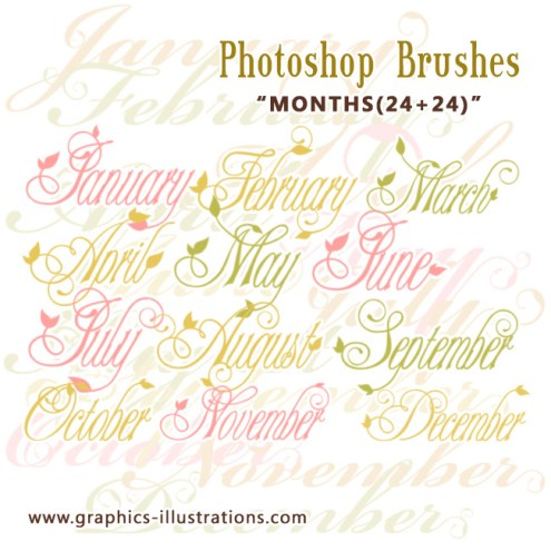 PS brushes: Months 12+12+12+12