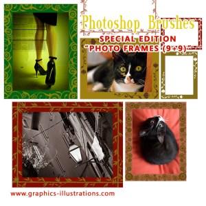 New great bonuses to the 800+ MEGA Pack Photoshop Brushes!