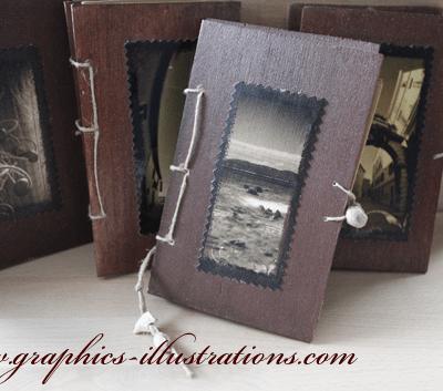 Wood Hand Made Diaries