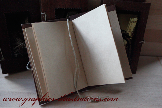 Hand made diary