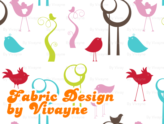 Fabric Design and Digital Stamps