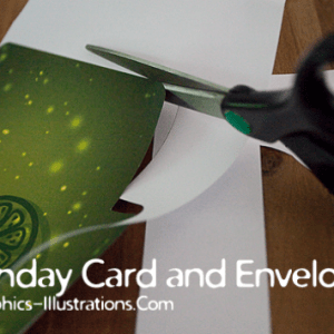 Photoshop Brushes in Action: Birthday (Gift) Card and the Envelope