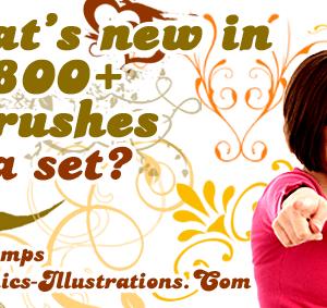 2011 Calendar Brushes Free with 800+ Photoshop Brushes MEGA SET?