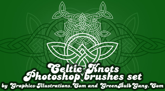 Celtic Knots Photoshop brushes