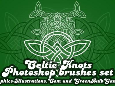 Celtic Knots Photoshop brushes