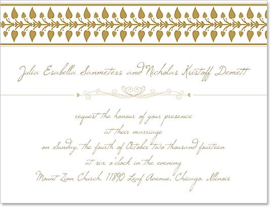 Free Download Wedding Invitation Template: Wedding Invitation Template Design [Free Download]