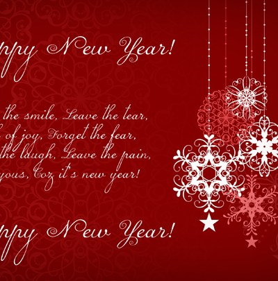 Christmas Card / New Year Greeting Card Template