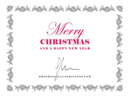 Illustrator Christmas Card