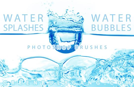 Water Photoshop Brushes Set