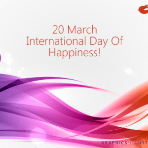 International Day of Happiness!