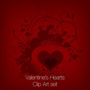 Valentine's Hearts Clip Art
