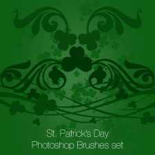 St. Patrick's Day Photoshop brushes