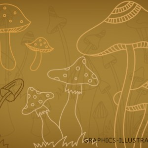 Photoshop Brushes – Mushrooms