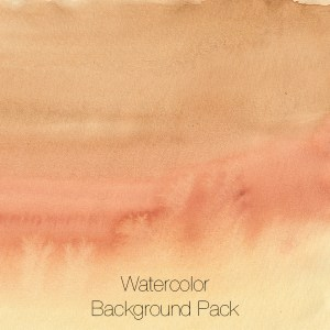 Watercolor Backgrounds Pack