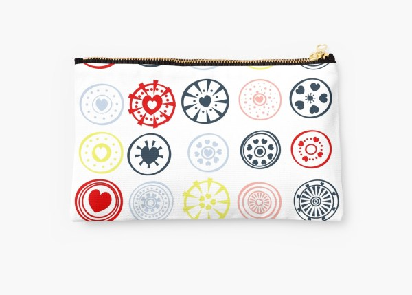 Love More Studio Pouches on Redbubble