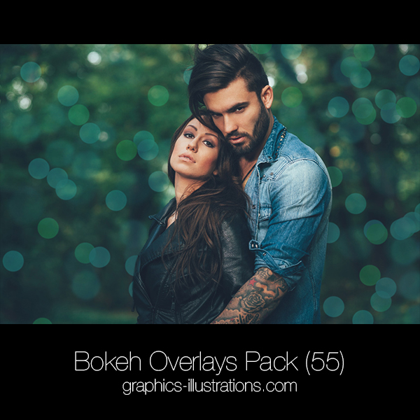 Bokeh Overlays Pack (55)
