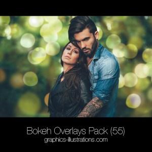 Bokeh Overlays Pack (55)