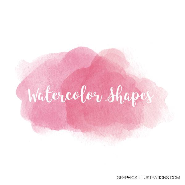 Watercolor Shapes