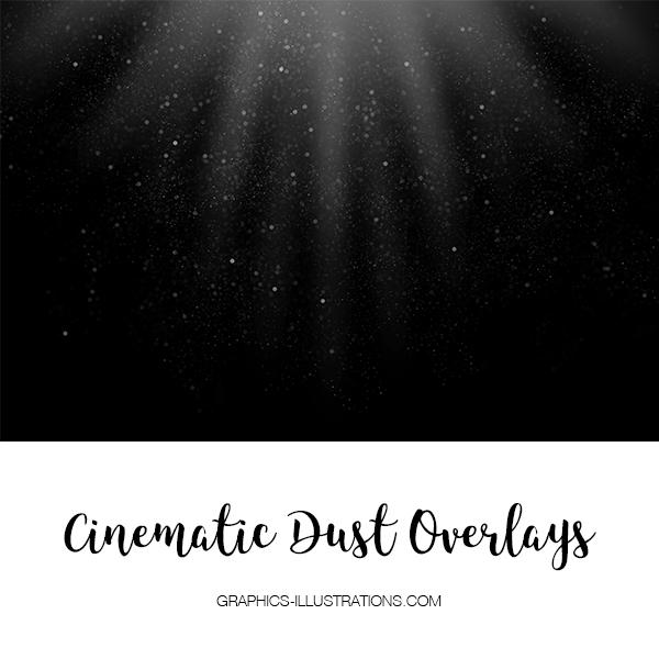 Cinematic Dust Photo Overlays