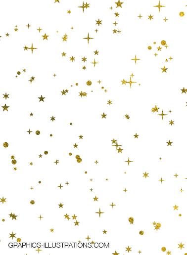 Gold Foil Confetti Overlays - Download