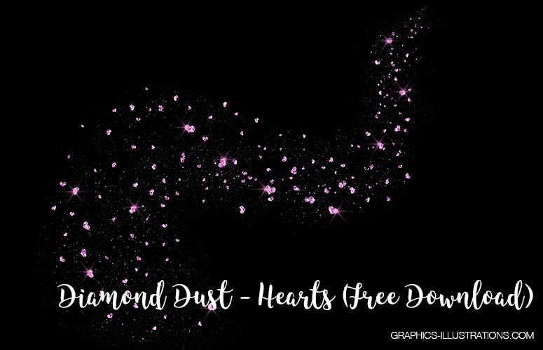 Heart Shaped Diamond Dust Free Download