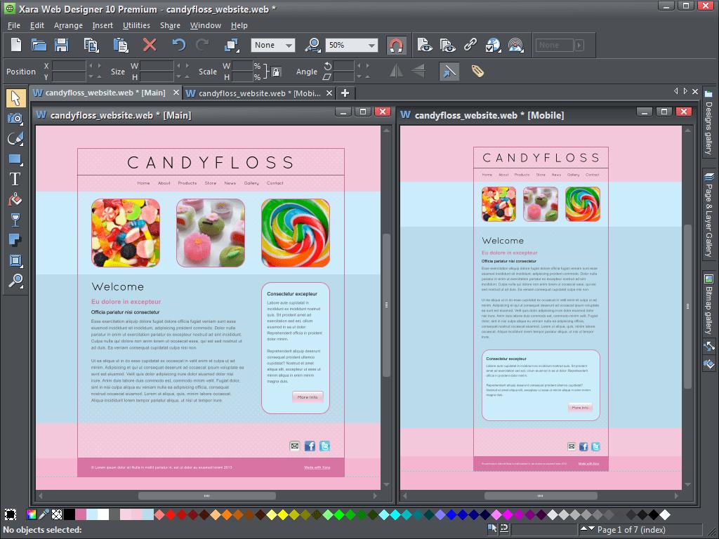 Xara Web Designer 10 Premium For Creating New Supersites Graphics Unleashed