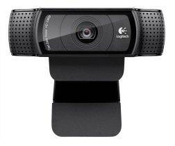 Logitech HD Pro C920 Webcam Provides 1080p Video Calls