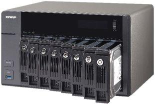 QNAP TVS-871 NAS Stores Terabytes of Data Safely
