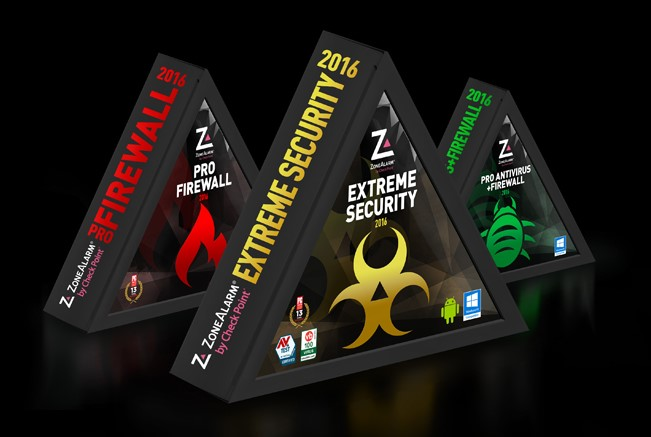 ZoneAlarm 2016 Products Available, Extreme Security Delivers Virus-Free Guarantee
