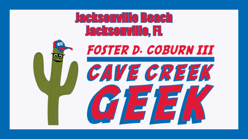 Cave Creek Geek Visits Jacksonville Beach