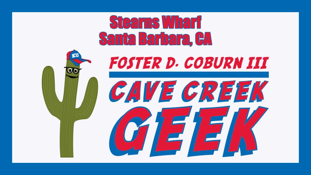 Cave Creek Geek At End Of Stearns Wharf in Santa Barbara, CA